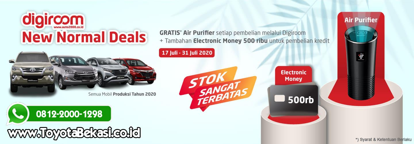 promo toyota new normal
